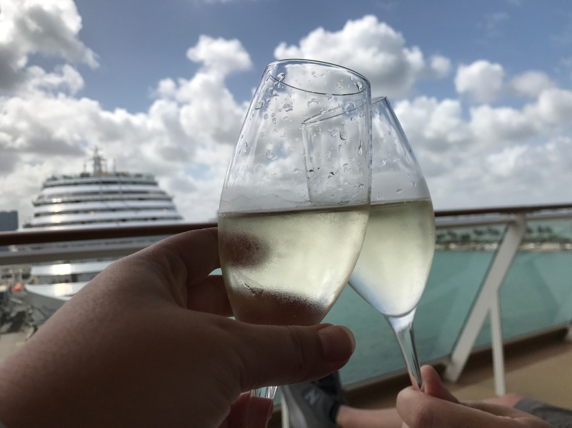 Hey Cruisers: It's Suite Level or Nothing at All. (At Least For Us)