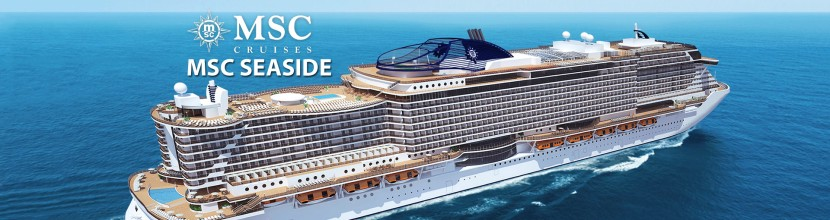 We're Checking Out the MSC Seaside and Yacht Club in May.