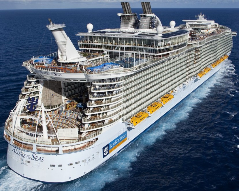 We're Sailing on the Royal Caribbean Allure of the Seas on May 13th! Join us!